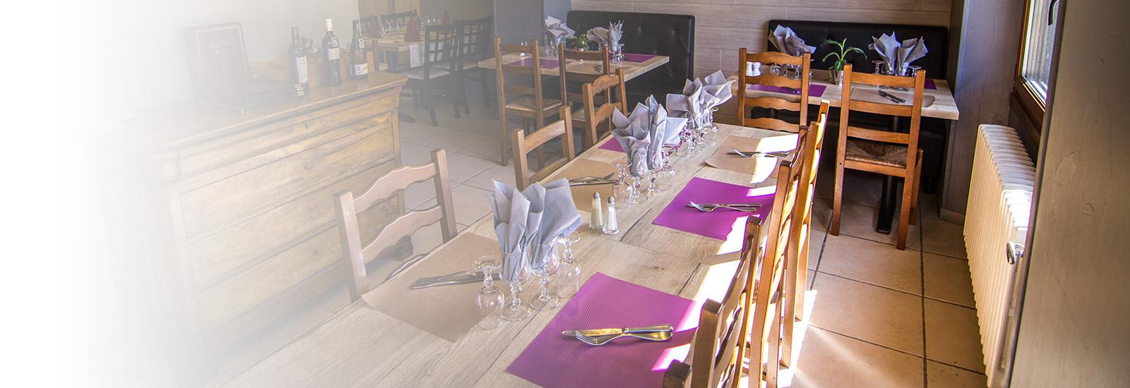 Salle du restaurant slider